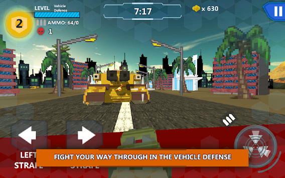 Cube Wars Battlefield Survival apk screenshot