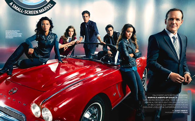 Marvels Agents of Shield Tab