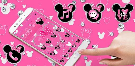Pink Diamond Minnie Theme Apps On Google Play