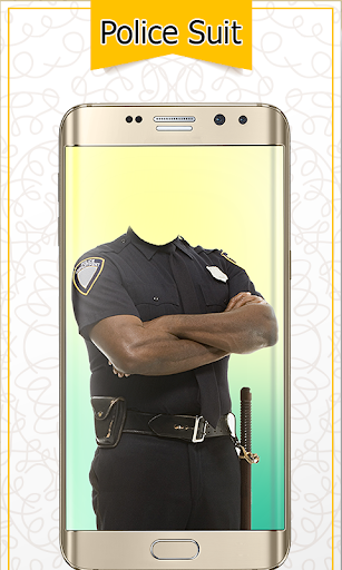 Police Suit Photo Frames - Picture & Image Editor screenshot 4