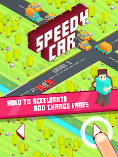 Speedy Car - Endless Rush Screenshot