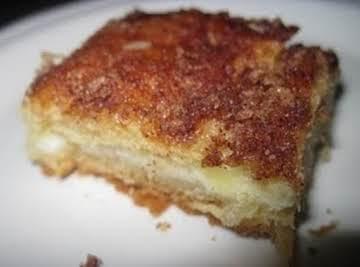 Cream Cheese Pecan Croissant Squares