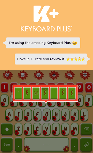 無料个人化AppのPoppy Garden Keyboard|記事Game