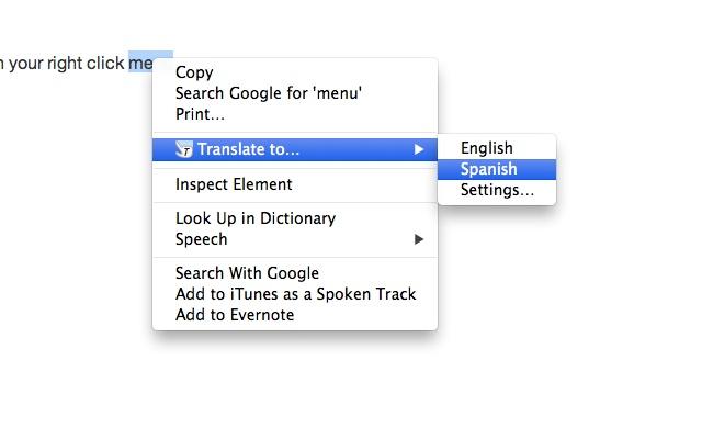 Click Translate