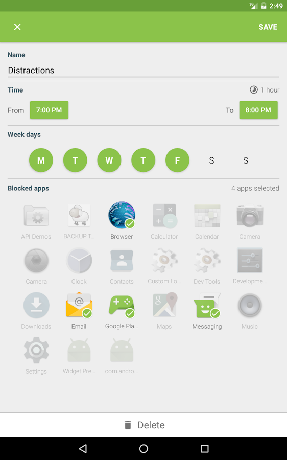 Block Apps - More Productivity - 屏幕截图
