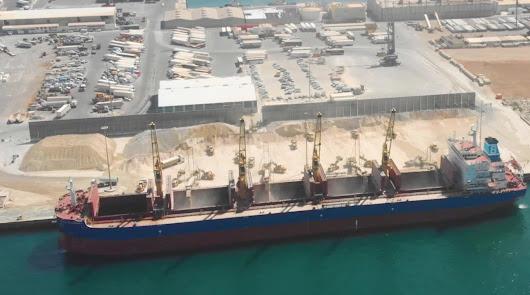 Puertos: El tráfico de mercancías crece un 129% en Carboneras y Almería en mayo
