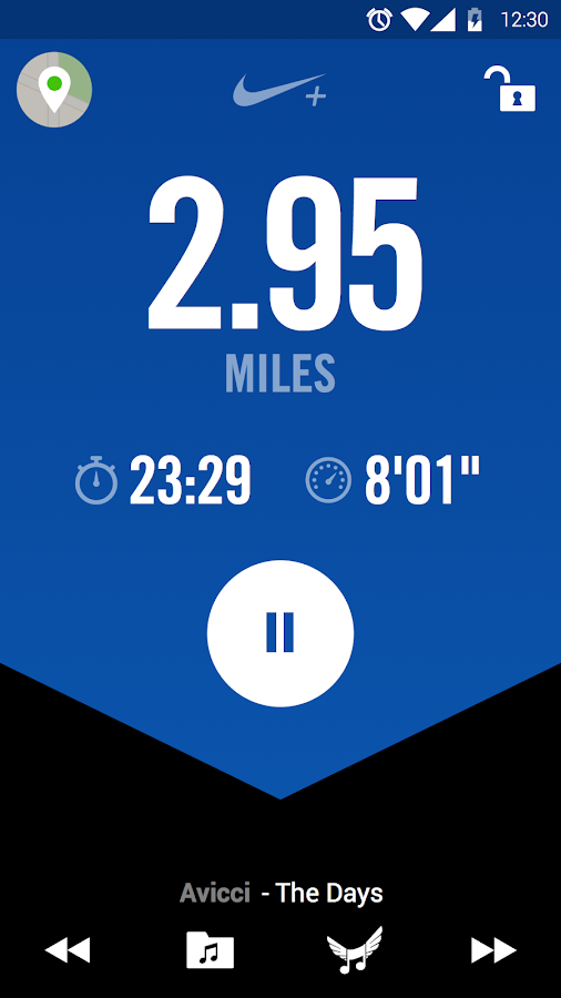Nike+ Running- screenshot
