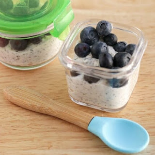 Overnight Oats with Yogurt.