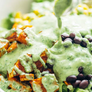 Five Minute Avocado Cilantro Dressing.