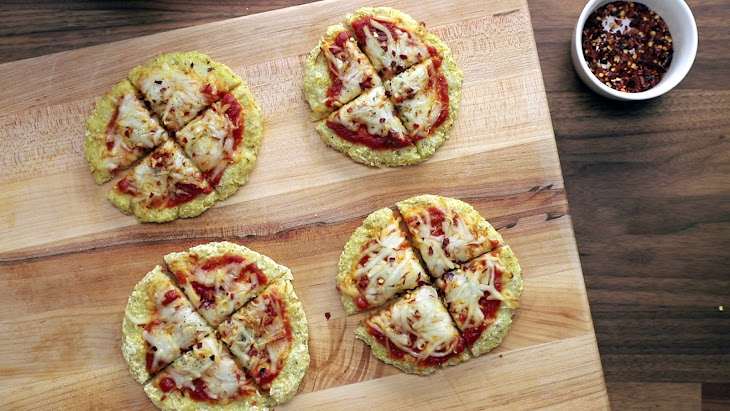 Dairy-Free Cauliflower Pizzas