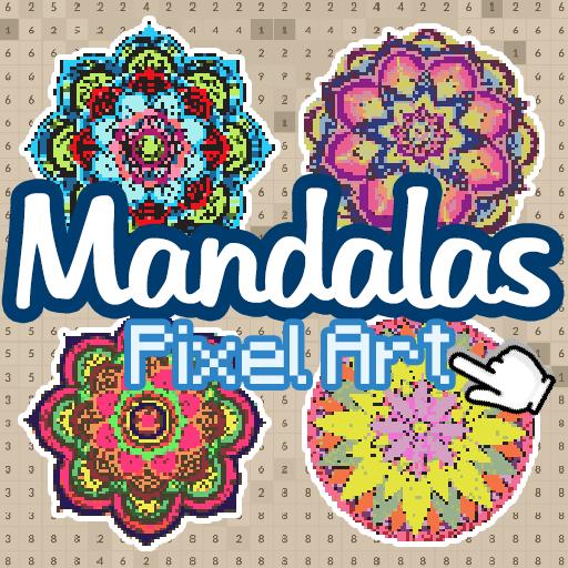 Mandalas Color By Number Mandala Pixel Art Google Play De