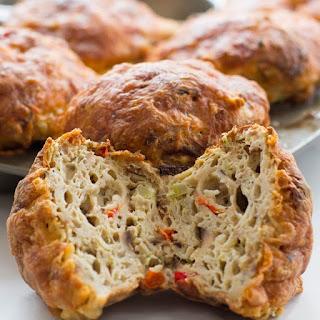 Savory Passover Matzo Muffins.