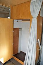 Photo: Kleiderschrank (war ja schliesslich ein Garderobenmobil :-))