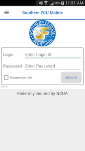 Southern FCU Mobile screenshot 0