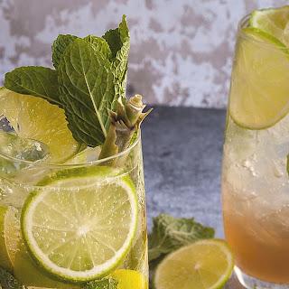 Lemongrass, Kaffir Lime and Ginger Mojito