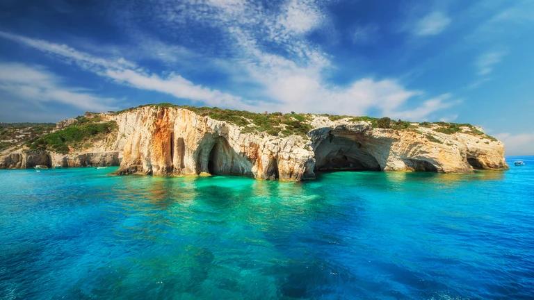 Blue Caves Zakynthos Island