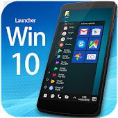 Win10 launcher theme &wallpaper