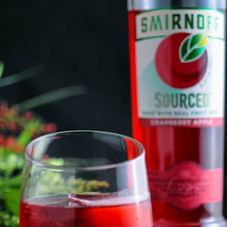 The Cranberry Sweet and Sour with Smirnoff Sourced Cranberry Apple Vodka.