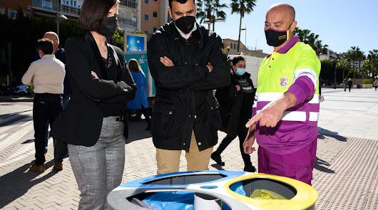 El Ayuntamiento coloca 24 papeleras de recogida selectiva para el reciclaje