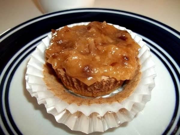 ~ German Chocolate Individual Cheesecakes ~