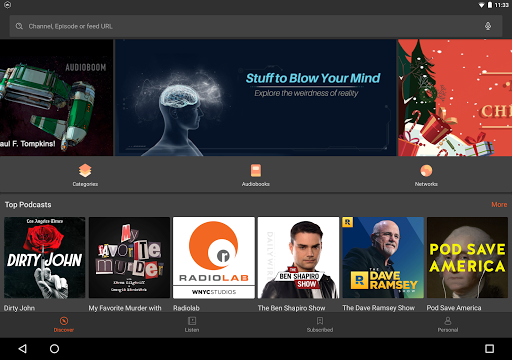 Castbox: Free Podcast Player, Radio & Audio Books for PC