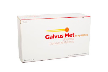 Galvus Met 50/1000Mg   Com.Caj.x56Com. Novartis Vildagliptina Metformina