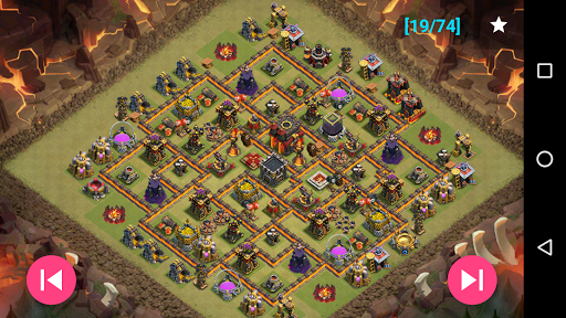 Maps of Clash Of Clans 1.30 screenshots 7