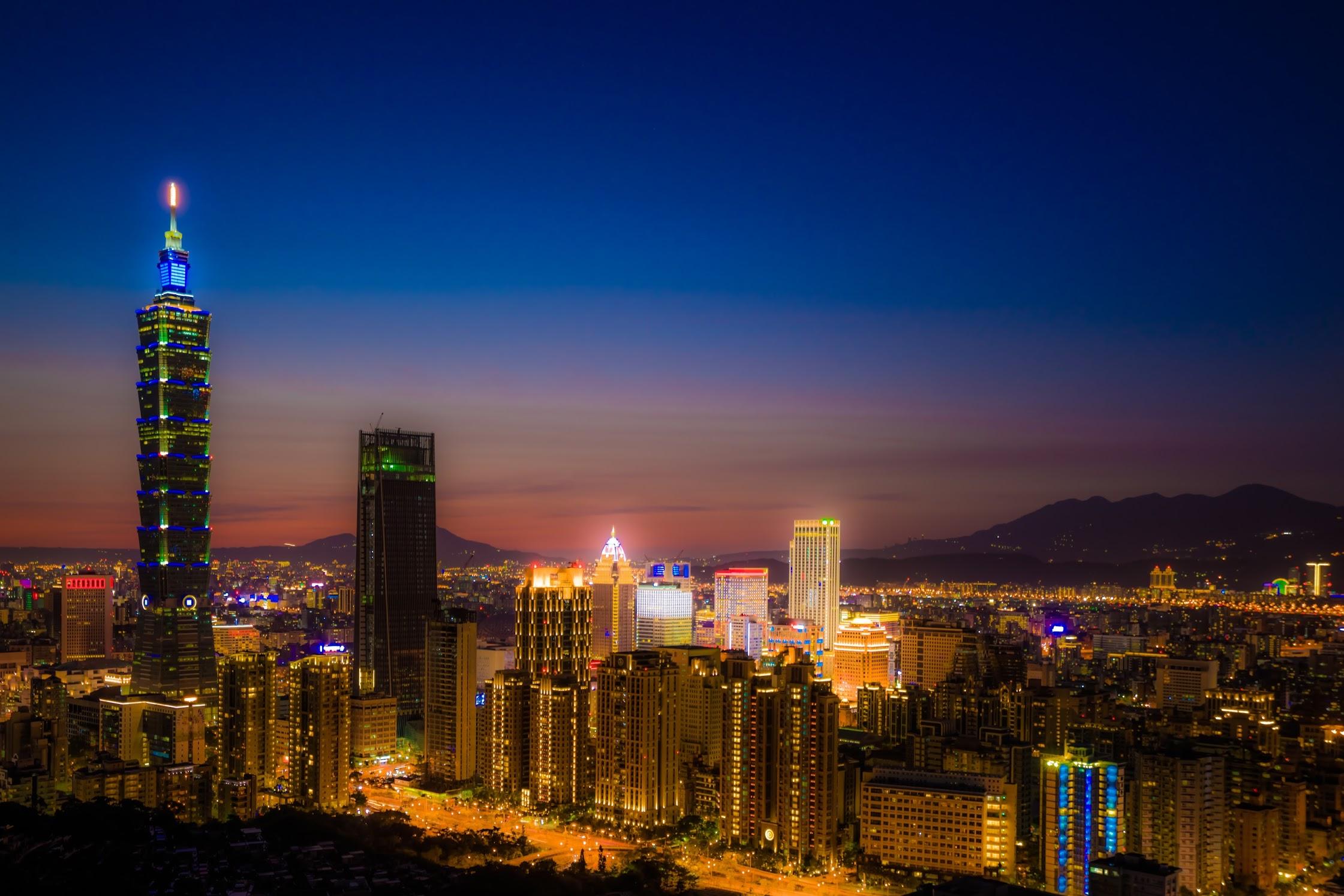 台北101 象山 夜景