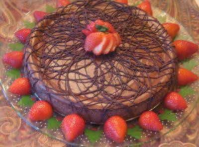 Ultimate Chocolate Cheesecake With Macaroon Crust