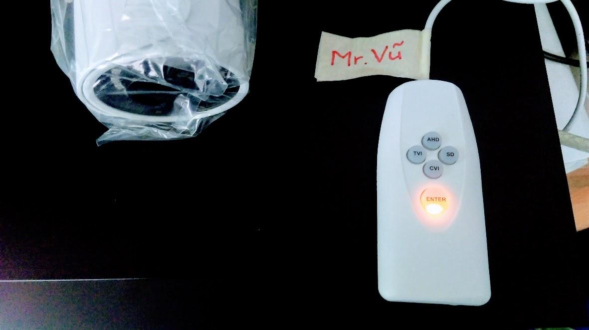Màu cam hiển thị trên UTC Controller là chuẩn CVI