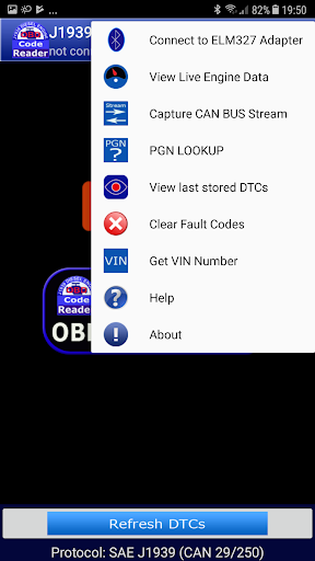 J1939 OBD Code Reader by CHINH LUONG QUOC (Google Play, United