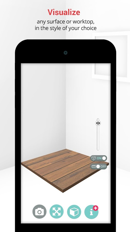 SizAR - Augmented Reality- screenshot