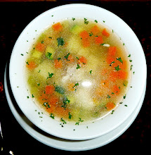 Photo: Chicken soup for lunch, Termas Papallacta restaurant