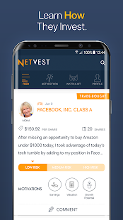 Netvest - Top Investors- screenshot thumbnail