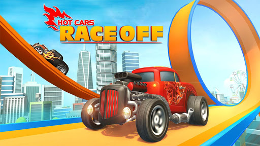 Hot Car Race Off 2.7 screenshots 1