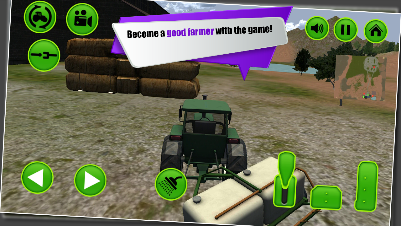 Farm Harvest Tractor Simulator- screenshot