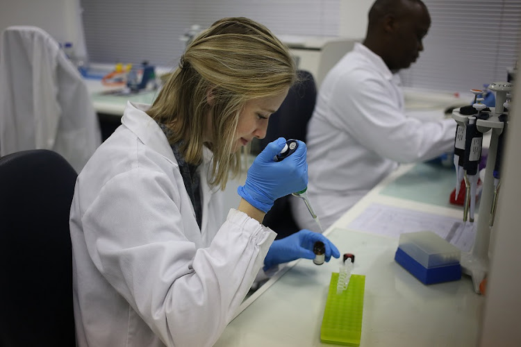 National Emergency Operations Centre, at The National Institute For Communicable Diseases, in Johannesburg. The institute is currently dealing with listeria. Picture: ALON SKUY
