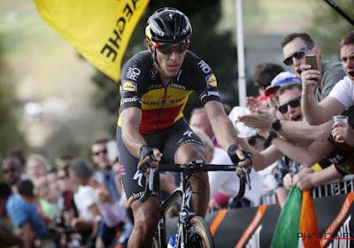 Philippe Gilbert moet noodgedwongen forfait geven voor Waalse Pijl en Luik-Bastenaken-Luik