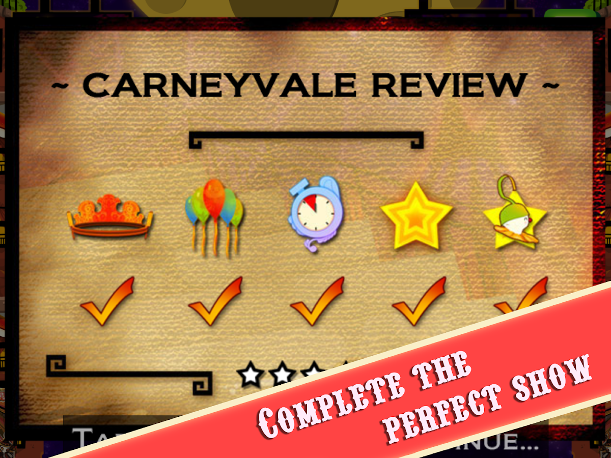 CarneyVale: Showtime- screenshot