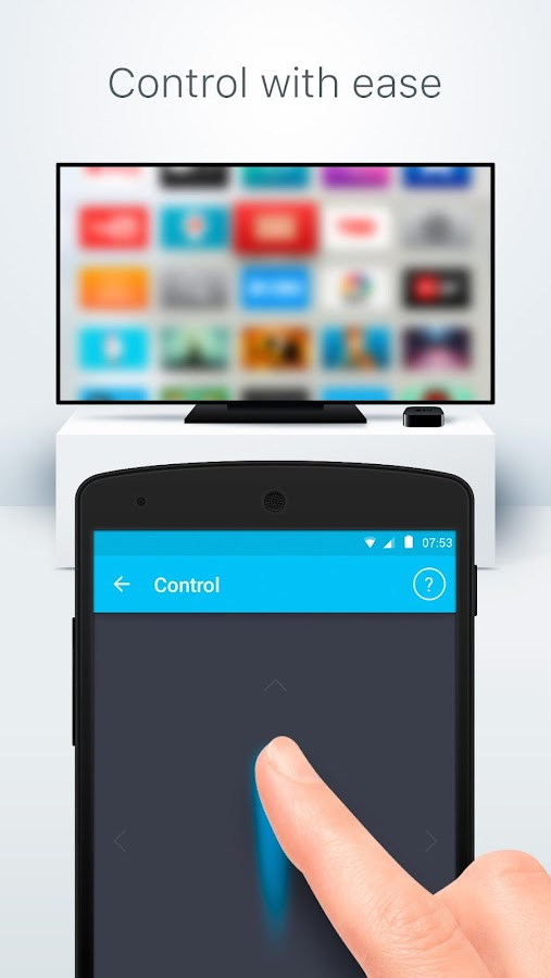Remote for Apple TV - CiderTV- screenshot