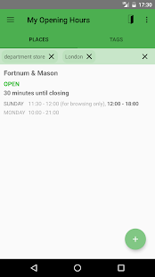 My Opening Hours- screenshot thumbnail