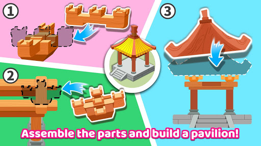 Baby Panda's Earthquake-resistant Building apktram screenshots 13