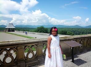 Photo: Kaleya on the terrace