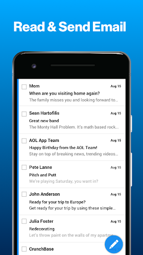 AOL - News, Mail & Video 5.8.2 screenshots 2