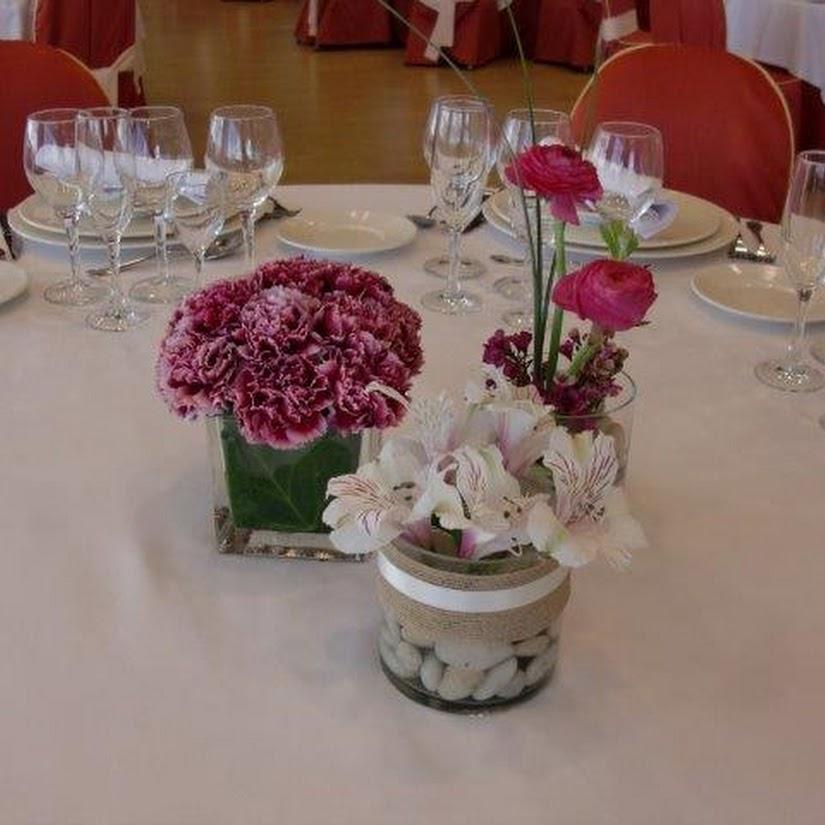 Centros de mesa para banquetes