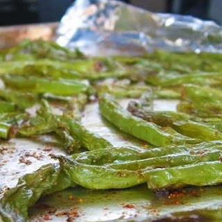 Oven-Roasted Green Beans with Coconut Oil.