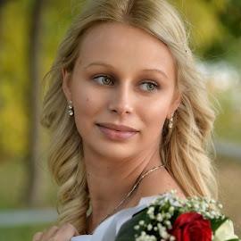 Melinda by Sasa Rajic Wedding Photography - Wedding Bride ( wedding photography, vencanje, novi sad, wedding, wedding photographer, bride, young, portrait, sasa rajic )