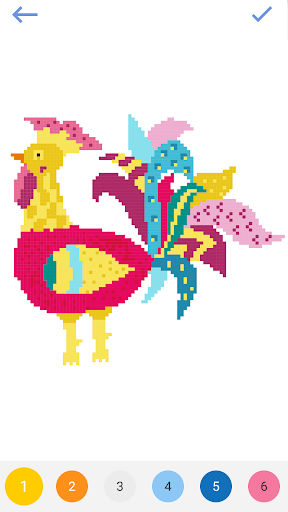 Pixel - Color by Number & Pixel Art Coloring Pages 2.5 5