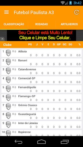 Futebol Paulista A3 2016