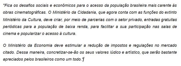 Exemplo - Escrito por Lucas Rios